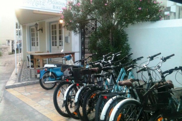 Island bikes for rent in Spetsai, Attiki, Greece